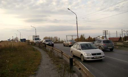 Уже на следующей неделе Талицкий мост сделают однополосным