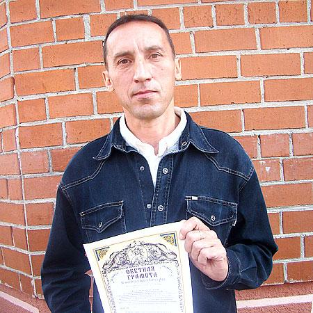Сергей Киряков дал обет трезвения на всю жизнь.