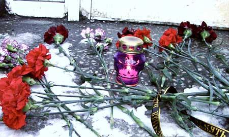 """Той трагической весной живые цветы долго лежали на снегу возле """"Галла"""", как скандально-прославившийся клуб звали в народе"""