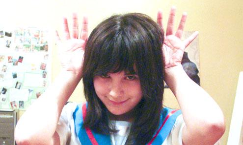 Девушка-анимешница