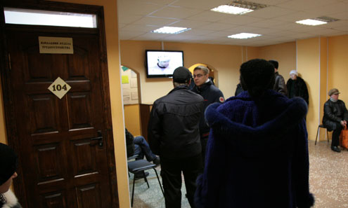 Очереди в первоуральском Центре занятости короче не становятся