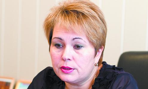 Начальник первоуральского Управления образования Нина Журавлева