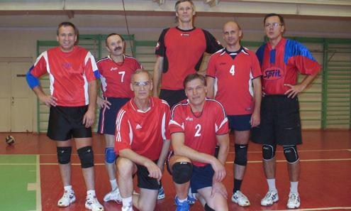 Команда Первоуральска — бронзовый призер в возрастной категории 50 лет и старше