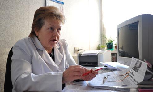 """Надежда Калинина, руководитель """"Центра здоровья"""""""