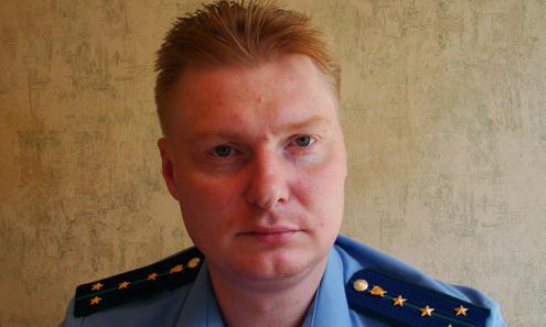 Заместитель прокурора Первоуральска Вячеслав Решетников