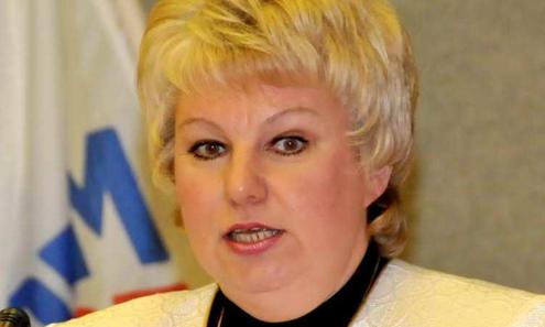 Председатель Думы Марина Соколова