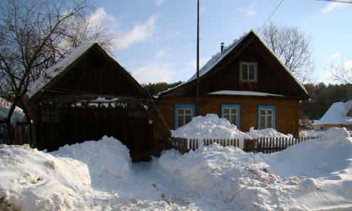 Дом, где проживал убитый