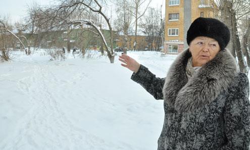 Только благодаря активности Екатерины Василенко сквер удалось отстоять