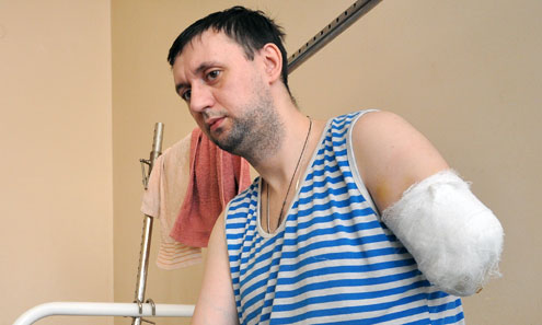 Евгений Кирьянов лишился руки в результате ЧП