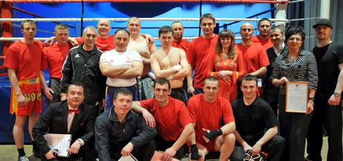 Первоуральцы стали героями спортивного шоу «Бойцовский Олимп»