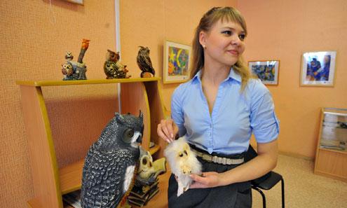 Наталья Петрова и ее совы