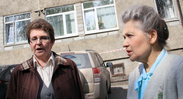 Нина Казарина и Светлана Костальгина