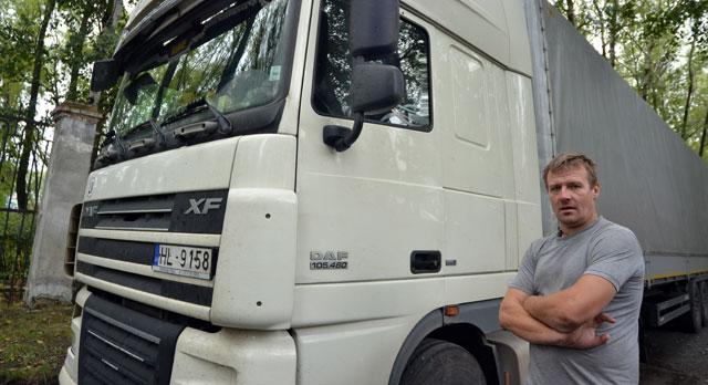 Водитель Райтис Вангилис, Латвия