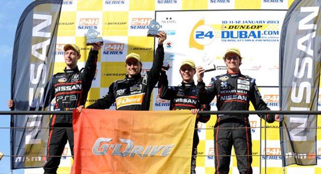 Пилот G-Drive Racing Роман Русинов финишировал вторым в «24 часах Дубая»