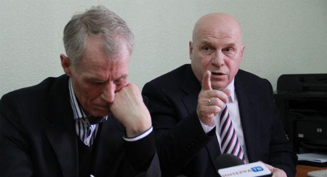 Александр Цедилкин и его адвокат Ахтям Давлетов