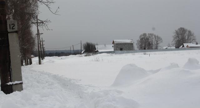Подъехать к деревне вчера было нельзя, дороги замело. Сегодня работы по уборке снега ведутся.