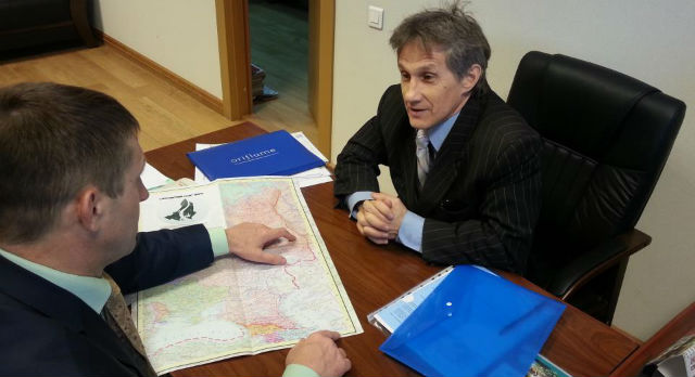 Встреча Геннадия Порозова и Евгения Артюха состоялась 7 марта. К реализации проекта по уточнению границ географы и краеведы планируют приступить уже в марте.
