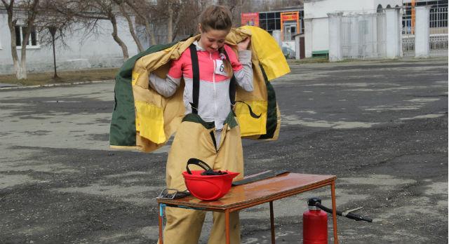 Эстафета с элементами пожарно-прикладного спорта