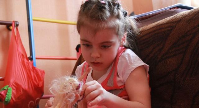 Яна Кабанова и ее родные преодолевают диагноз ДЦП уже семь лет