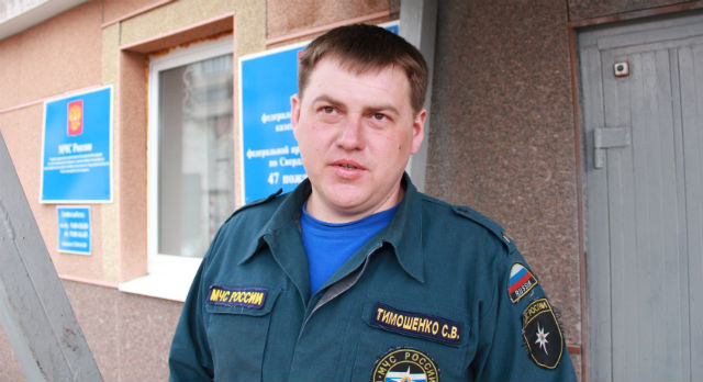 Сергей Тимошенко не считает свой поступок геройством.