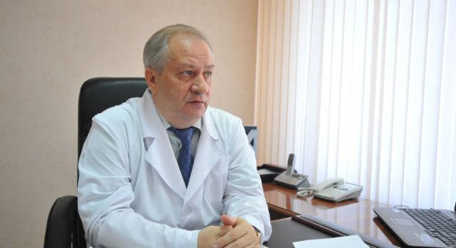 Николай Шайдуров, главный врач ГБ№1