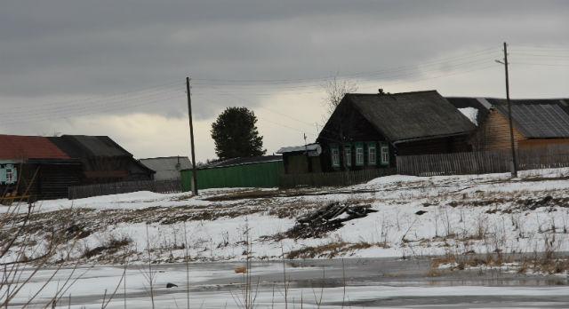 Деревня Треки стоит аж на двух реках — Чусовая и Трека