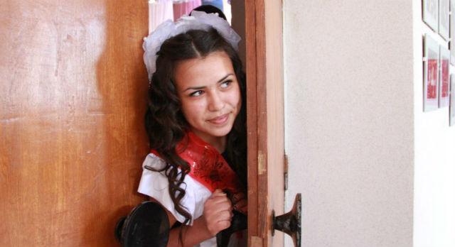 Анастасия Почиталина учится в школе №15 и уже решила, что будет работать в полиции