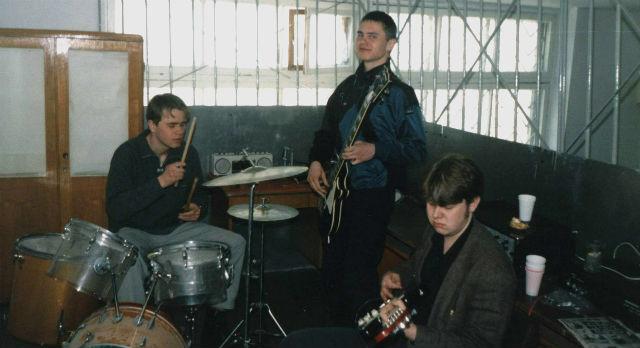 Вот с такого трио началась история «Скрим». Александр Борисов, Павел Букирев, Александр Ляш (слева направо). Чуть позже к ним присоединился Евгений Баринов.