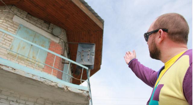 Александр Перминов готов арендовать и восстановить заброшенный пост ДПС, но не может — объект никому не принадлежит, хотя и нужен полиции.