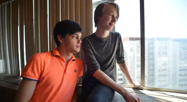 Виталий и Александр уже в детстве понимали, что отличаются от обычных мальчиков