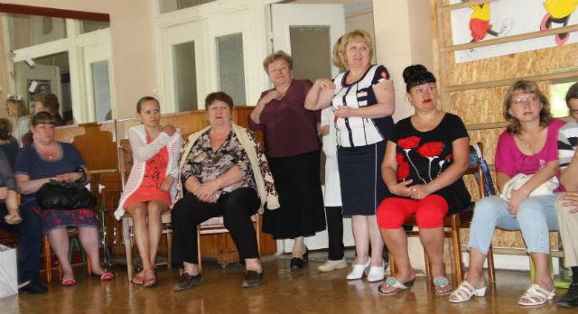 Сотрудники бывшего детского дома на СТИ