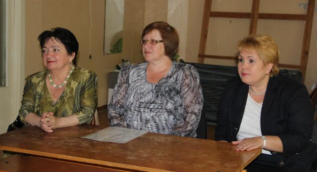 Нина Журавлева и Наталья Савинова