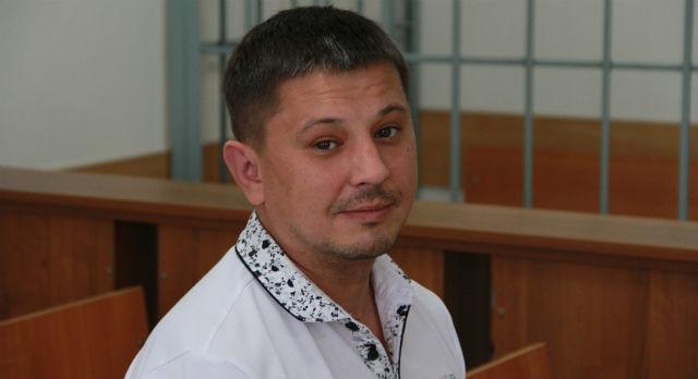Дмитрий Сарафанов в зале суда