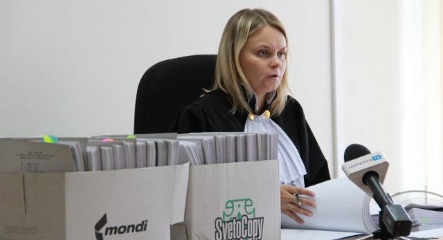 Судья Екатерина Елисеева