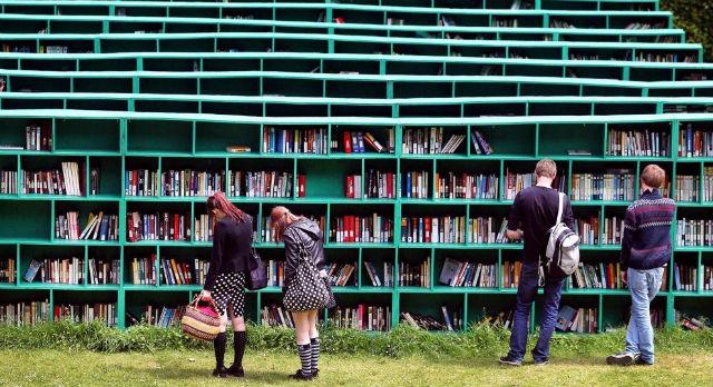 Один из проектов ДНК — клуб-читальня