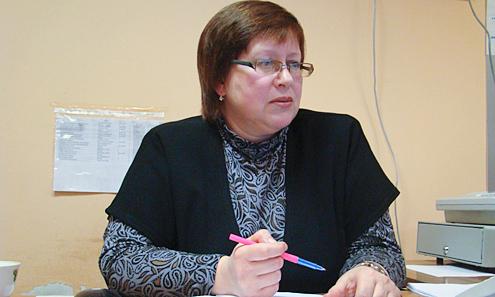 Начальник дошкольного отдела управления образования Наталья Савинова