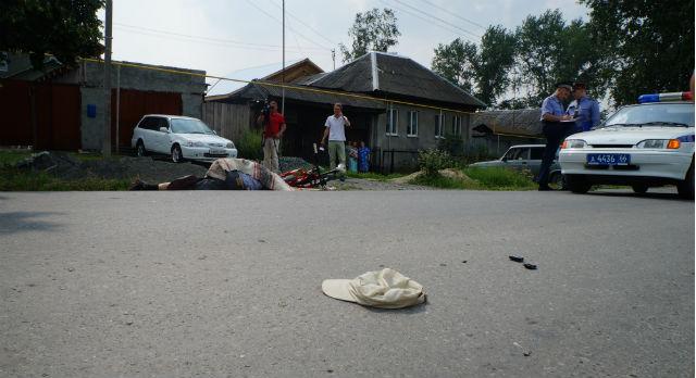 В ДТП на улице Орджоникидзе погиб велосипедист.