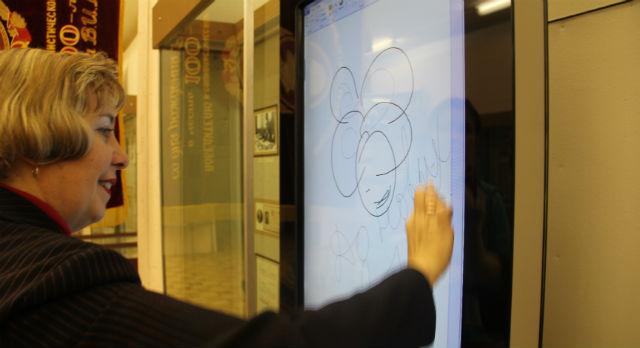 Директор музея Светлана Титова: «Сенсорный киоск был моей мечтой!».