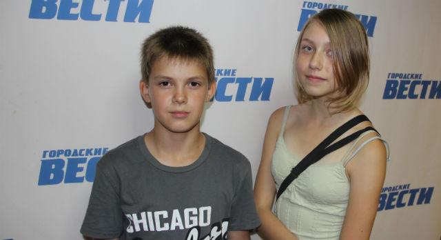 Юрий Арбузов и Ксения Мердишева