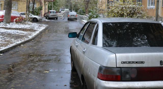 Так выглядит уже готовый объект. Въезд во дворы Чкалова-Ильича