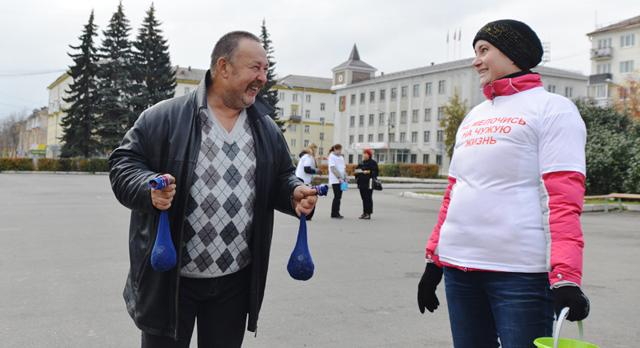 Владимир Терехов принес деньги в носках.
