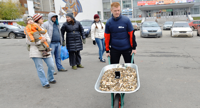 Вес пожертвования, который собрали первоуральцы для Яны Кабановой, вытянул на 200 кг.
