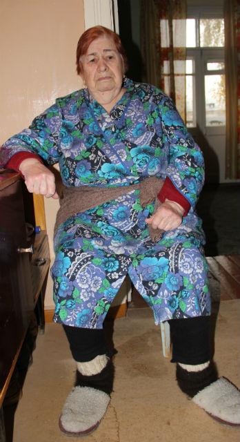 82-летняя Любовь Дорохина, ветеран труда