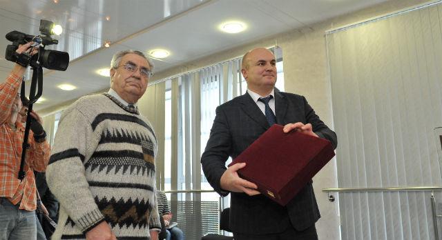 Сергей Портнов — почетный гражданин Первоуральска — уверен что Николай Козлов справится со своими обязанностями