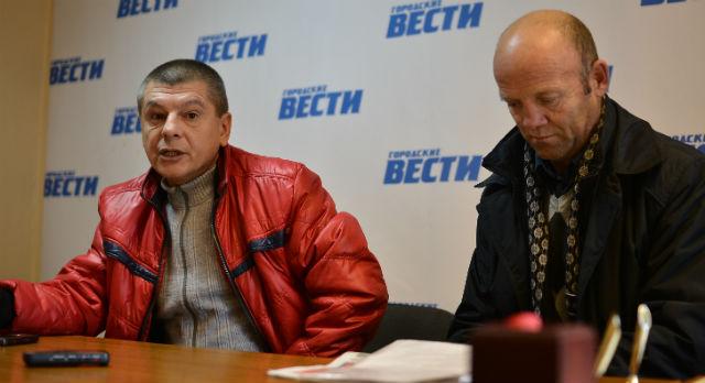 Сергей Мотин и Александр Гильденмайстер