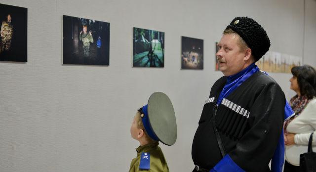 """Открытие выставки """"Казачий дозор"""""""