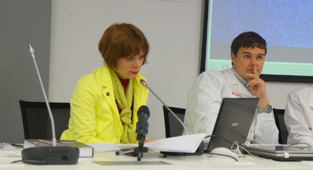 Елена Каварга прочитала лекцию о science-art и показала самые яркие проекты.