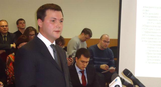 Сити-менеджер Алексей Дронов представил бюджет в первом чтении. Второе — окончательное — чтение будет в декабре