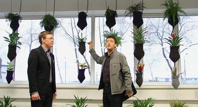 """""""Вертикальные сады"""" Кена Ринальдо могут решить несколько экологических проблем одновременно. А все потому, что однажды художник задался нелепым вопросом и нафантазировал ответы."""