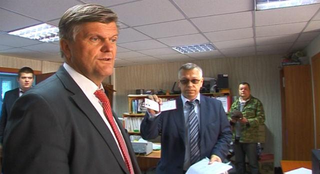 Андрей Калинин (на переднем плане)